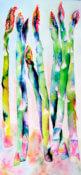 Anita Jamieson's watercolor Asparagus