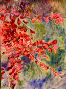 Anita Jamieson's watercolor Autumn