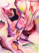 Anita Jamieson's watercolor Cabbage Ribbons