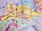 Anita Jamieson's watercolor