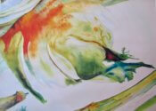 Anita Jamieson's watercolor Fennel