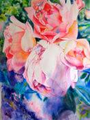 Anita Jamieson's watercolor Minot Roses