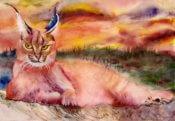 Anita Jamieson's watercolor My Kingdom