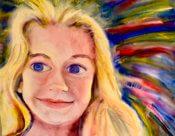 Anita Jamieson's watercolor Nora