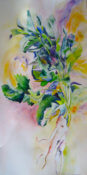 Anita Jamieson's watercolor Parsnips
