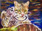 Anita Jamieson's watercolor Pounce