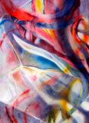 Anita Jamieson's watercolor Refracted Onion