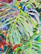 Anita Jamieson's watercolor Split Philly in Isla Morada