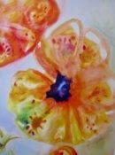 Anita Jamieson's watercolor Tomato